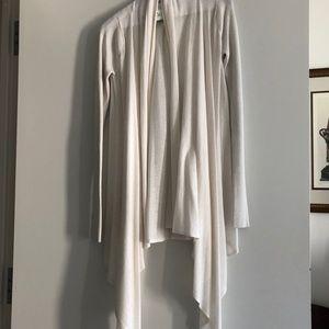 Lululemon long wrap sweater - never work
